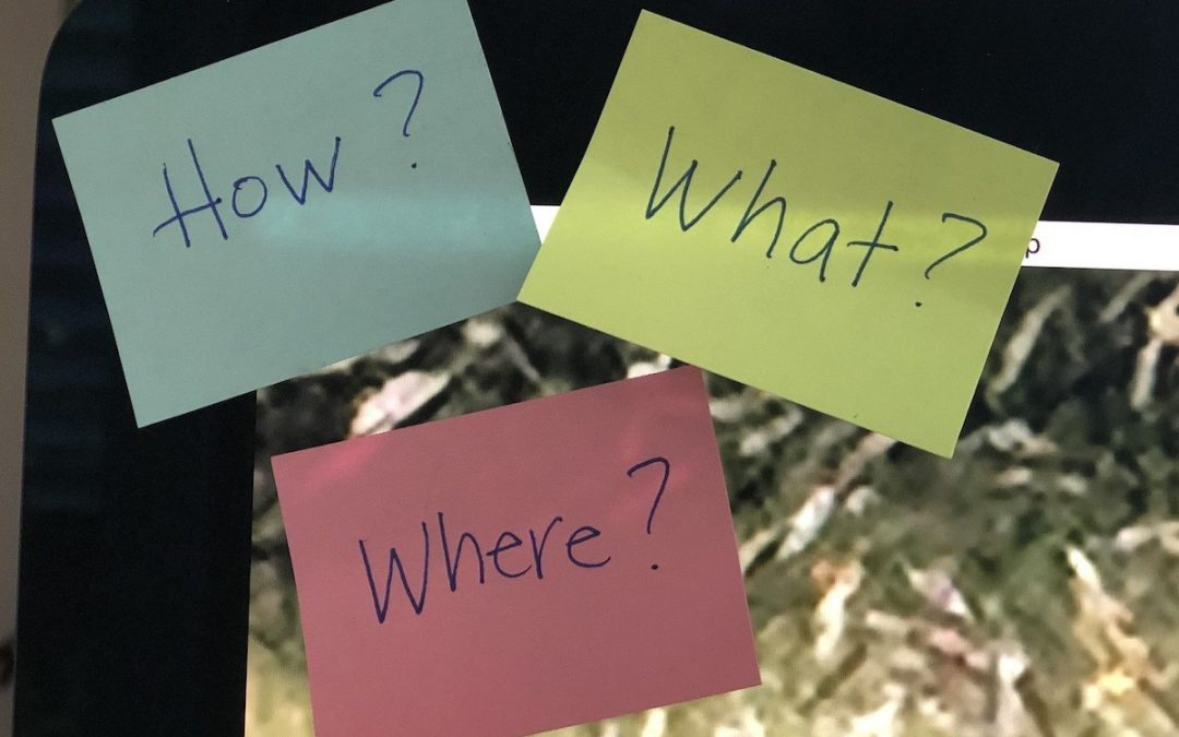Reframing your questions
